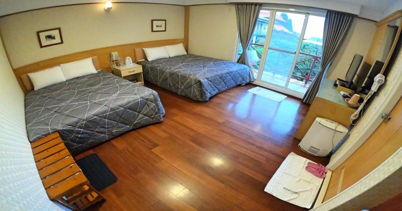 雙床-雙人房、三人房、四人房